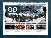 Aurora Projekt Mock Website