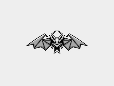 Gargoyle Numéro Quatre sketch design logo illustration gargoyle paris