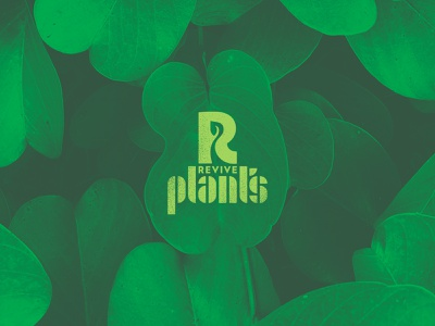 Revive Plants Logo design logo plants revive