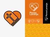 Pense laranja