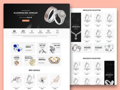 Jewellery Shop Design jewellery online jewellery store jewellery shop