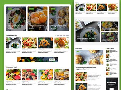 Food Review Theme Design food news food recipe foodie food review food blogger food blog food
