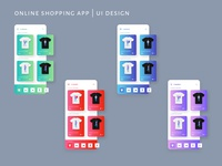 Online Shopping App Ui Design