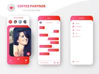 Coffee Partner (The Dating App) Design