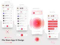 File Share App Ui Desgin