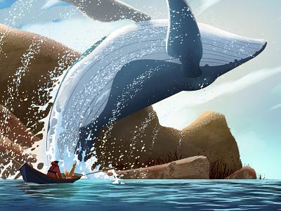 Great Whale type website ui vector animation illustrator art illustration artwork design