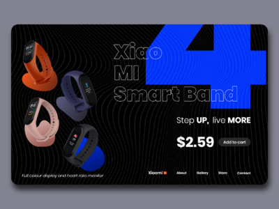 Xiao Mi Smart Band 4 - Concept Store