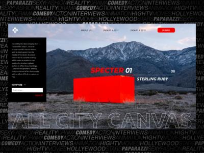 """""""Specter"""" in Desert X 2019"""