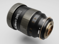 Camera lens - modeling