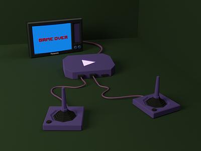 V i d e o g a m e / app game 3d animation icon logo render 2d 3d art 3d minimal animation website web ux vector art ui illustration artwork design