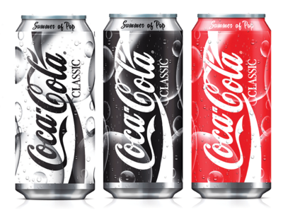 Coke Can Concept Summer Of Pop