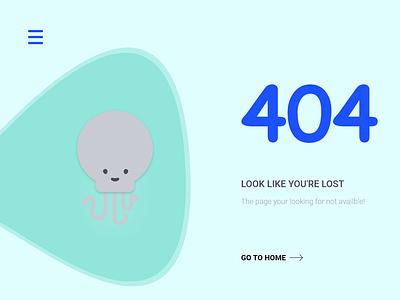 404 Not Found design website ui ux web adobe xd 404 error page 404error 404