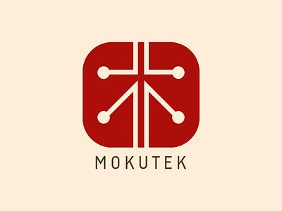 MokuTek - Logo Design technology chinese japanese branding concept brand design logo design