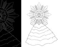 Teaser line art - Sinulog Concept Costume