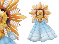 Sinulog Festival Queen Costume Design