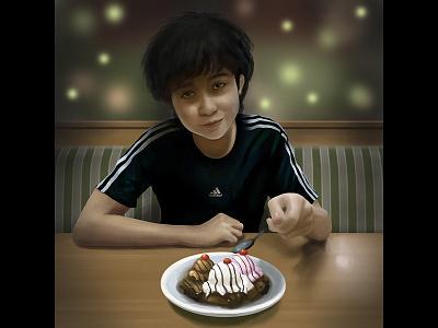 Sioty 2017 wip painting digital boy