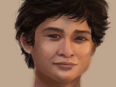 Quick Sketch face sketch digital