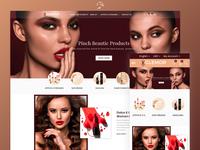 Glemor Cosmetic Ecommerce Store