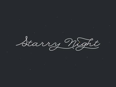 01 / Starry Night