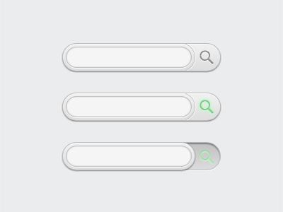Clean Search search web design ui website button box searchbox