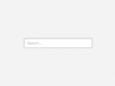 Minimal Search web website search searchbox minimal minimalist minimalistic clean