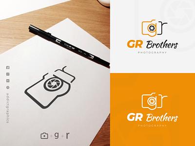 Logo Mark for Freelance Photographers app vector icon illustration logo typography addict graphics branding design addictgraphics