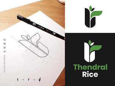 Logo Mark for Rice Shop & Distributer vector illustration design addictgraphics logoconcept branding logo graphic design