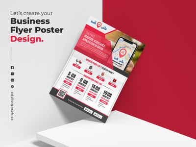 Business Flyer Poster Design ui logo illustration flyerdesign business flyer typography addict graphics branding design addictgraphics