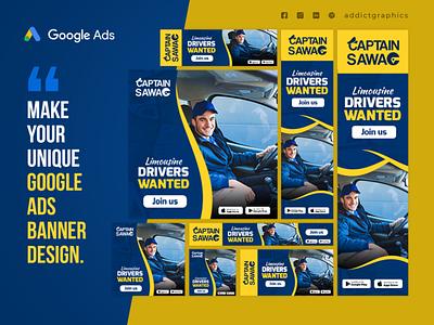 Google Ads Banner Design Set digital marketing banner set google ads google banner graphic design branding design addict graphics addictgraphics
