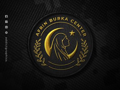 Logo for Burka Center branding design vector logo type logo design illustration branding logo addict graphics design