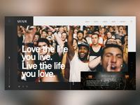 🎧Music Festivals|Web Site Design