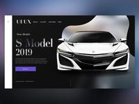 🚘 New Car Model |Daily Ui Design