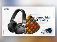 🎧 NEW HEADPHONES |Daily Ui Design