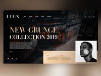 👖 Fashion Brand Landing Page |Daily Ui Design
