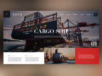 ⛴Cargo Ship |Daily Ui Design