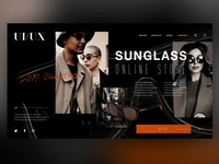 🕶Sunglass Oneline Store |Daily Ui Design