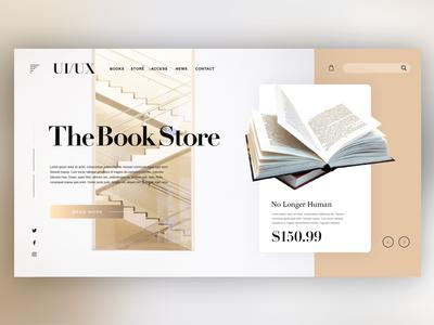 📖Book Store Website |Daily Ui Design