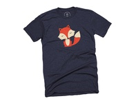 Friendly Fox Tee on Cotton Bureau