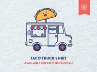 Taco Truck shirt on Cotton Bureau