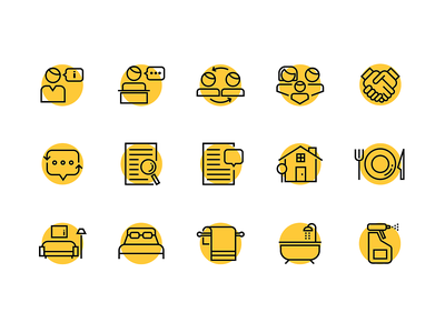 International Rescue Committee Iconography communication home vector line illustration outline icons stroke illustration stroke icons illustration icon icon design iconography icon set icons branding