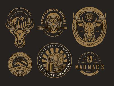Retro Vintage Design branding vector rustic design illustrator graphic designer motorcycle art tshirt design vintage vintage badge vintage logo retro design retro badge