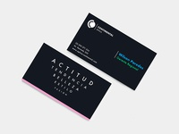 business card for Óptica Continental