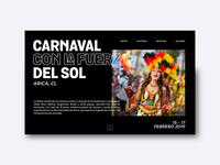Carnaval con la fuerza del sol - Arica