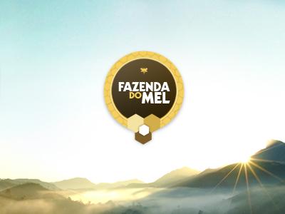 Logo Fazenda do Mel logo branding pousada hotel ui gustavo girard design