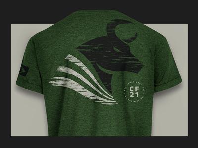 CF21 - t-shirt CrossFit