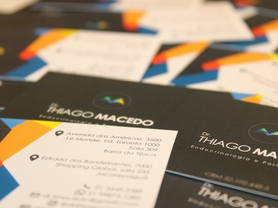 Business Card - Dr. Thiago Macedo
