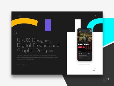 Website - GUS Designer Freelancer