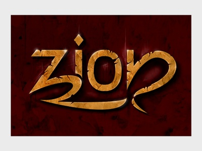 Zion digital photoshop design illustration drawing logo