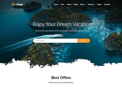 Travel website brand identity icon vector design ui ux branding illustrator photoshop app design