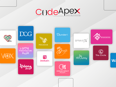 Logo Designed by Code Apex brand identity brand illustration illustrator photoshop logo
